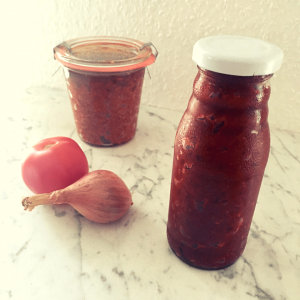 Barbecuesauce, Barbecue-Sauce, BBQ-Sauce, Grillsauce, Dip, Tomate