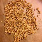 Haselnusskrokant, Krokant, karamellisieren, Karamell, Honig