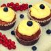 Cupcake, Muffin, Karottenkuchen, Karotten-Cupcake mit Frischkäse-Limetten-Topping, Frosting