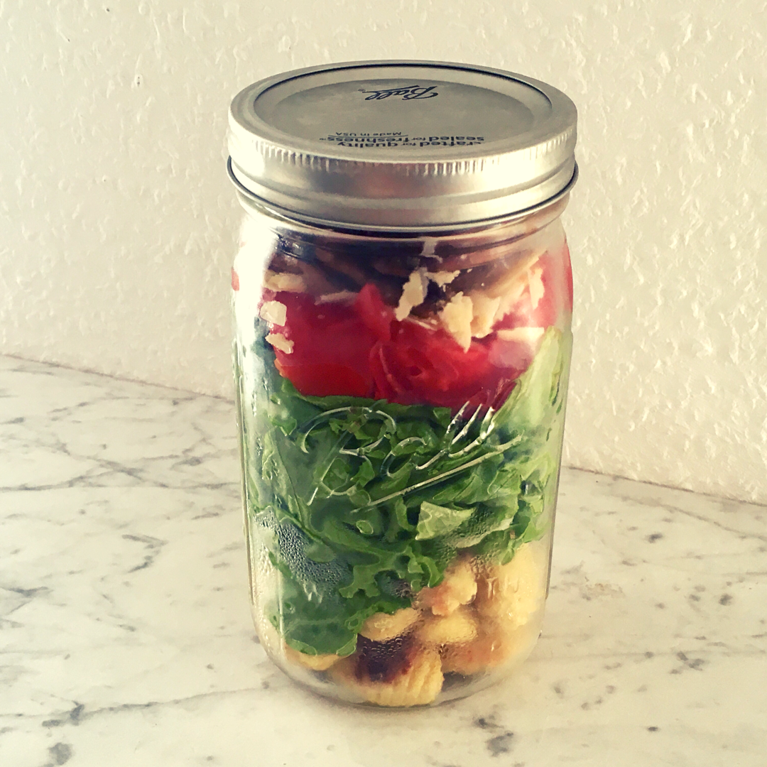 Caesar Salat, Caesar Salad, Caesar Dressing, Meal Prep. Gnocchi, Gnocchisalat