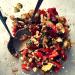 gegrilltes gemüse, Amaranth, Salat, sommerlicher Salat, Gemüsesalat, Feta